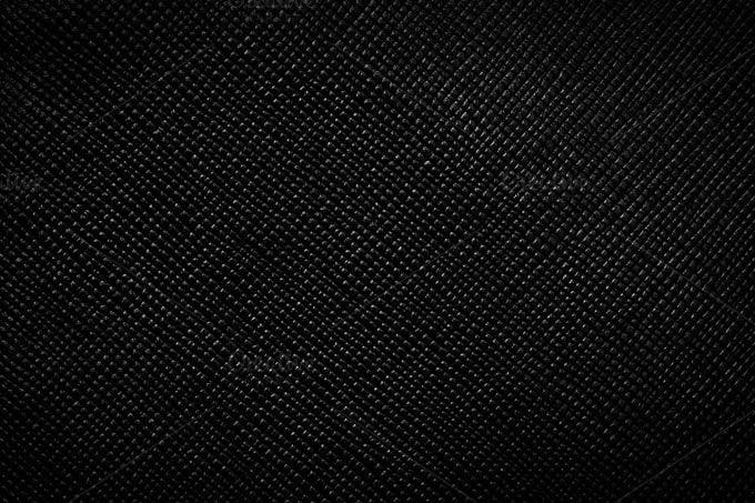 243241 genuine black leather background