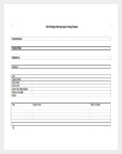 DOC Format of Progress Tracking Template