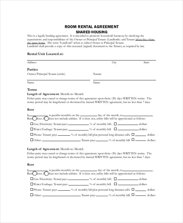 Basic Rental Agreement – 10+ Free Word, PDF Documents Download ...