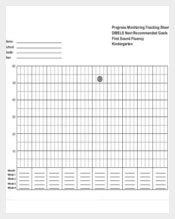 Progress Monitoring Tracking Sheet Free PDF Template Download