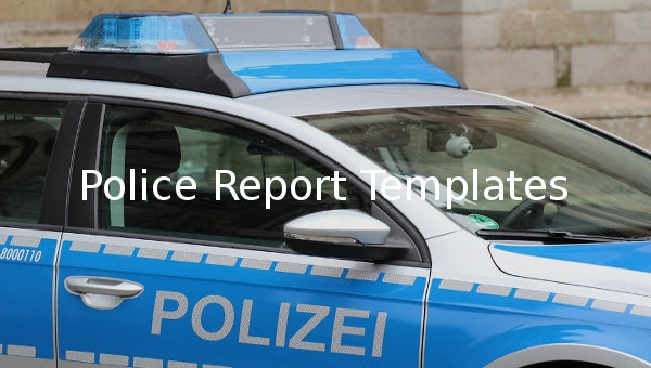 policereporttemplates