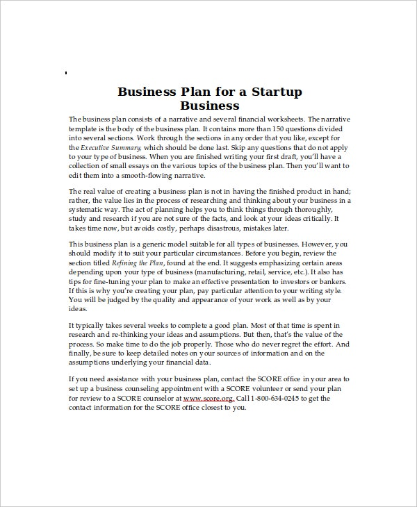 Business start up cost template 5 free word excel documents business plan for a startup business fbccfo