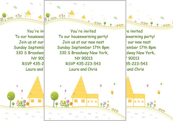 35 Housewarming Invitation Templates