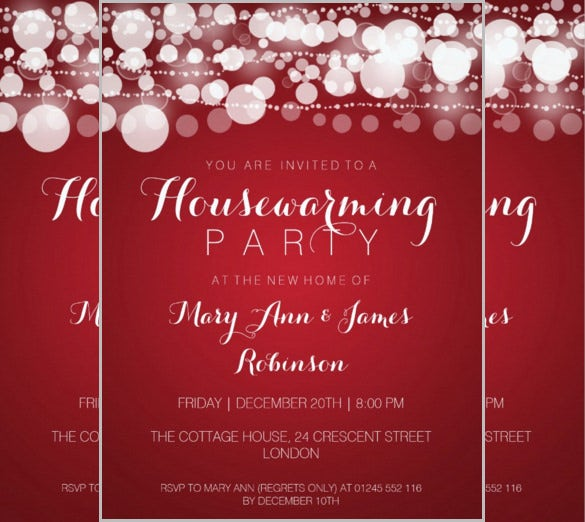 Housewarming Invitation Template 30 Free PSD Vector EPS AI – Free Housewarming Party Invitations