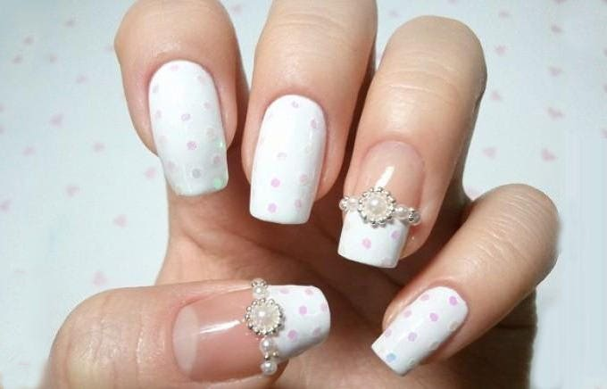 nail design for wedding