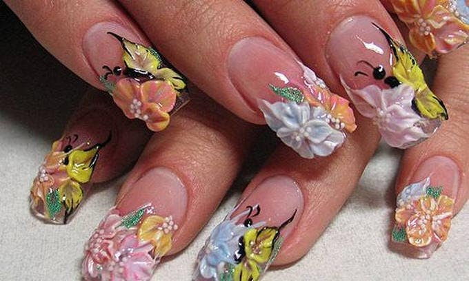 3D Nail Design - 25+ Amazing And Stunning 3D Nail Art Designs Free & Premium Templates