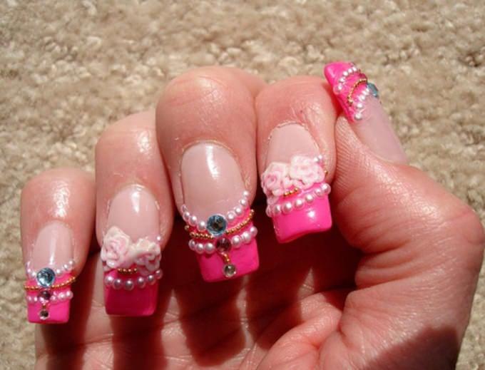 3d nails design