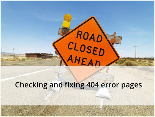 404 Errors Page