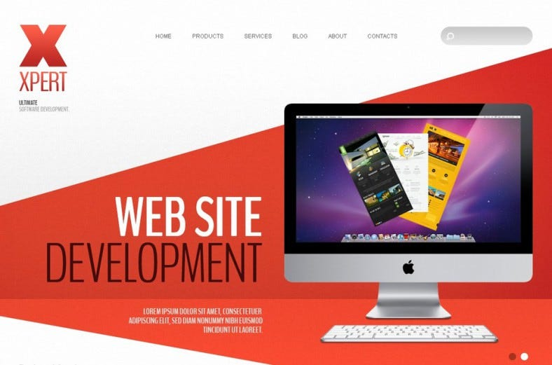 Joomla Theme for Software Company
