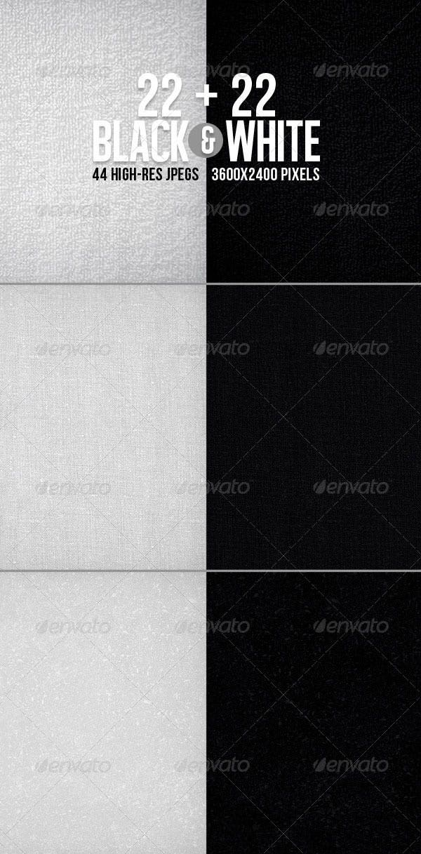 44 black white textured bgs