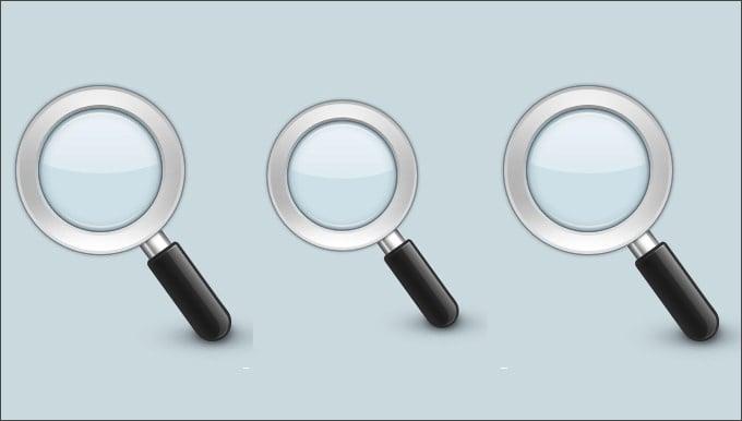 54336 realistic search icon