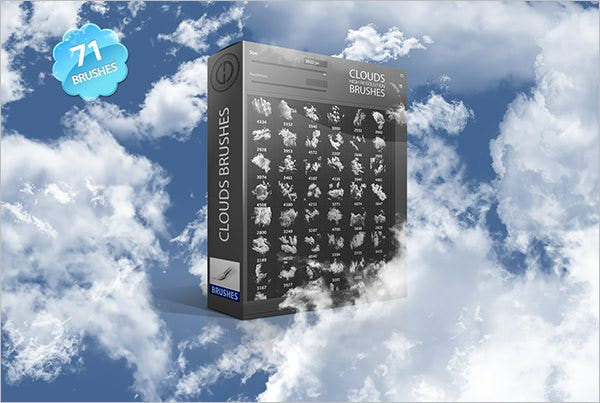 71 clouds brushes