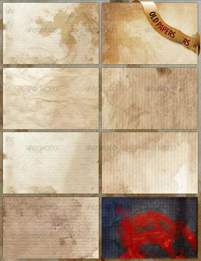 8 old paper texturesbackgrounds 63909