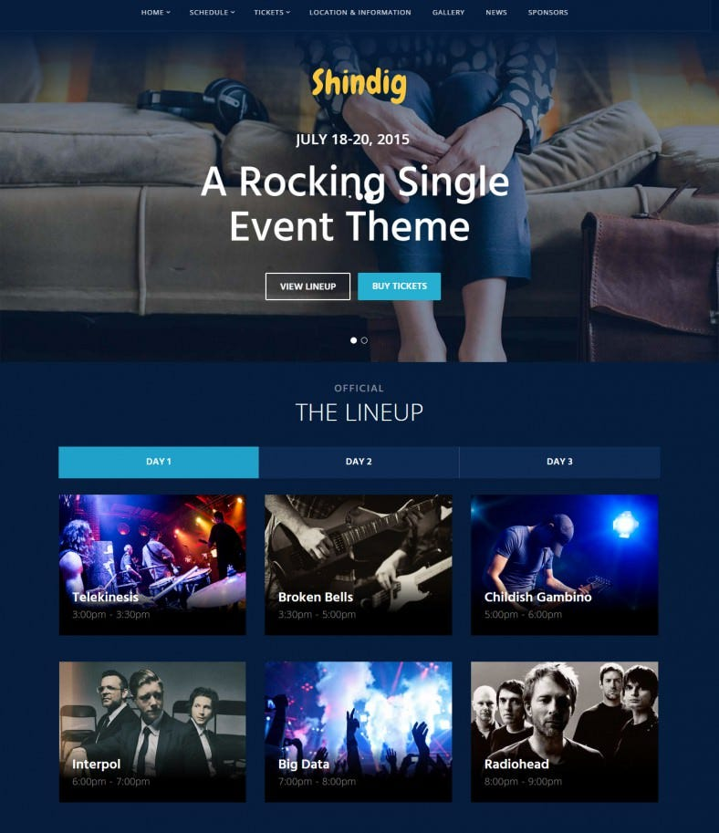 a rocking event management word press theme 788x913
