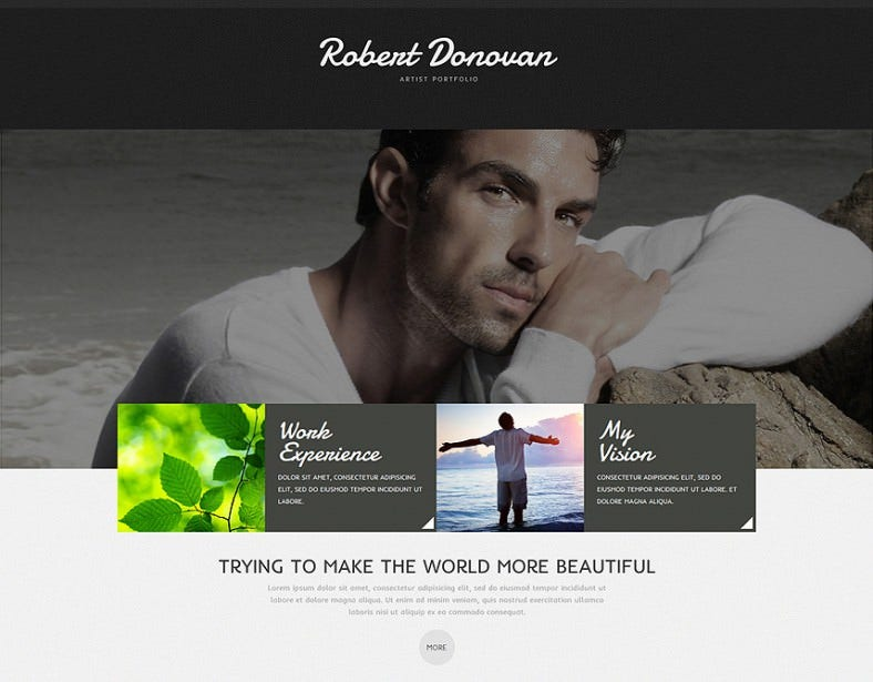 actor portfolio joomla template 75 788x615