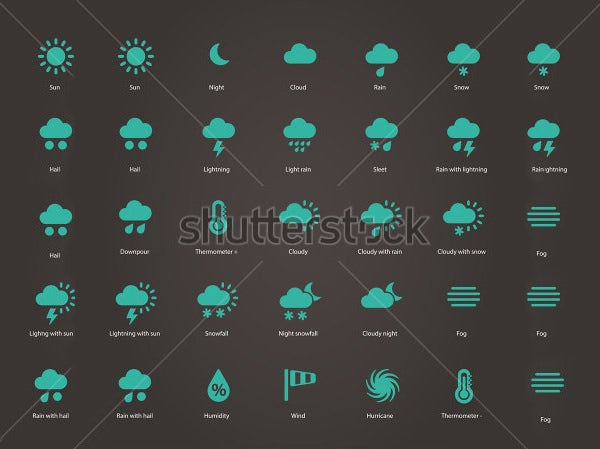 65+ Weather Icons - Free Icons Download | Free & Premium Templates