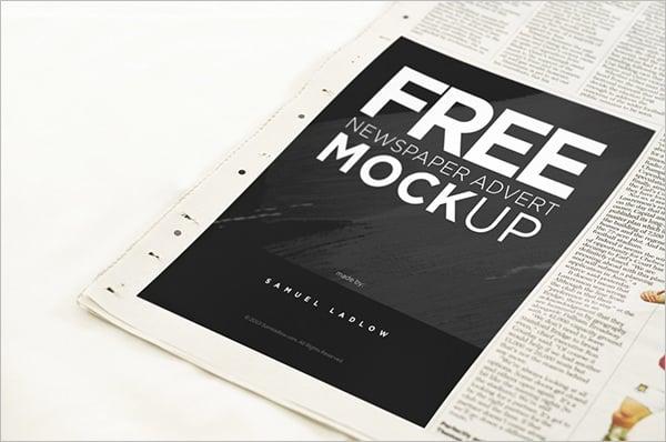 Advert Poster Mockups