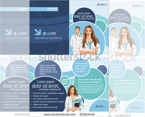 advertising medical poster template