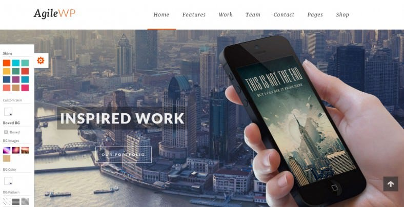 Multi-Purpose App Showcase WordPress Theme