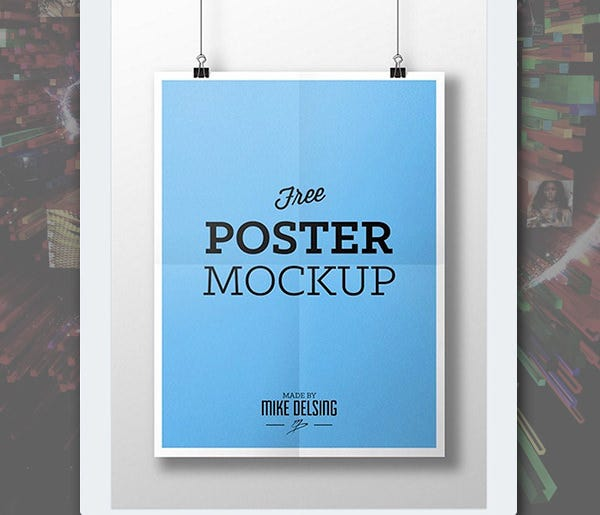 amazing psd poster mockups