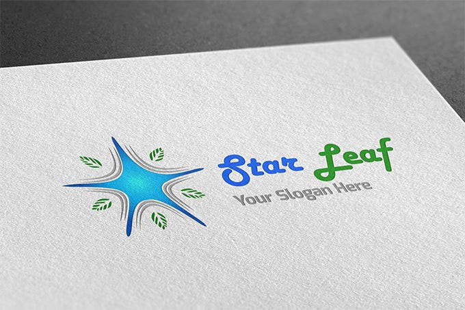 amazing star leaf star logo