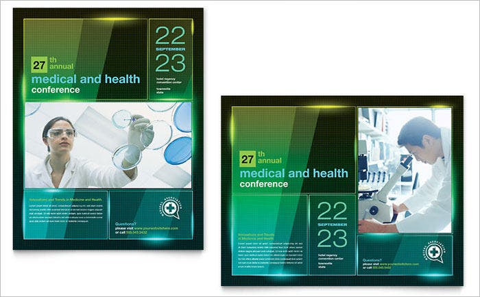annual medical poster template