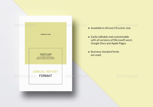 annual report template2