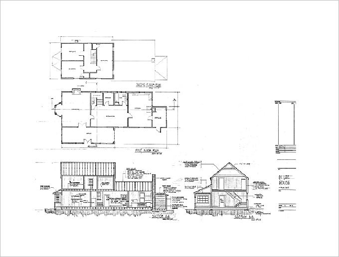 architectural drawing print1