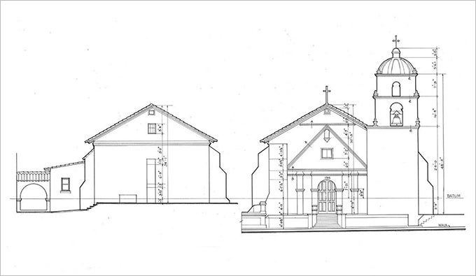 architectural drawings of house1