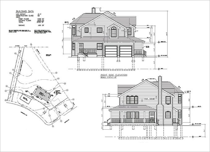 15+ Free Architectural Drawings & Ideas | Free & Premium ...
