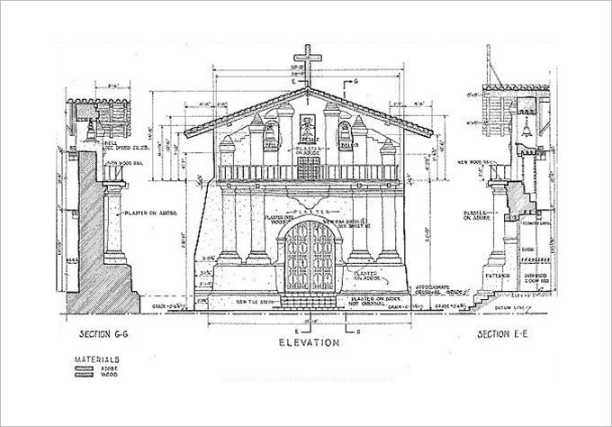 architectural presentation drawing1