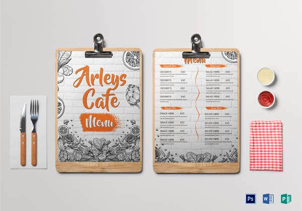arleys-cafe-menu-design-template