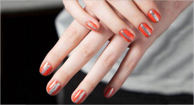 autumn nail design
