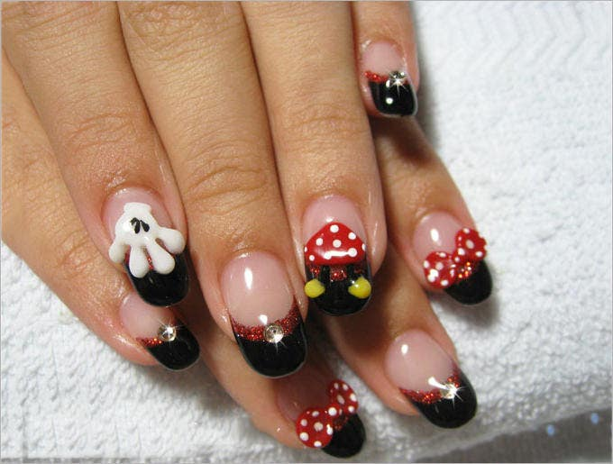 awesome gel nail design