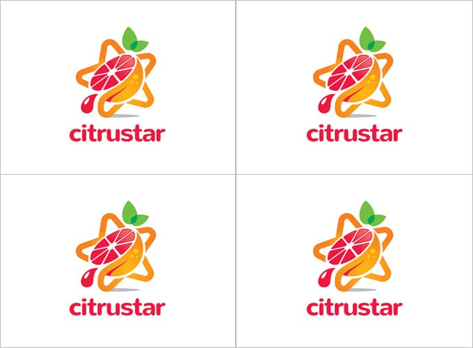 awsome citrustar star logo