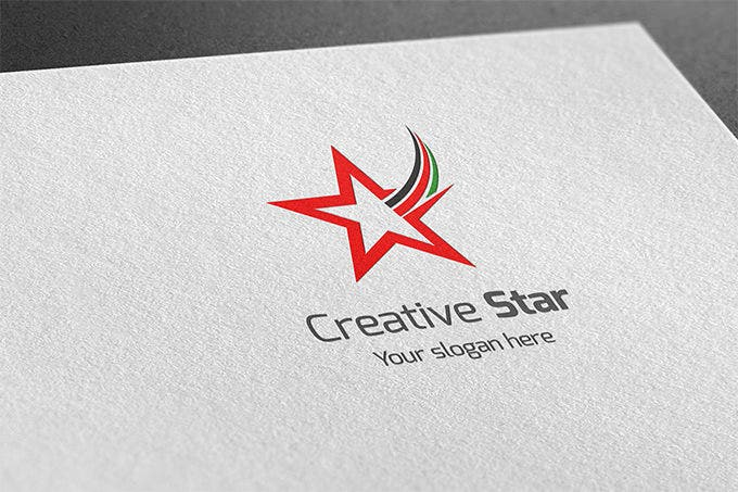 awsome creative star logo