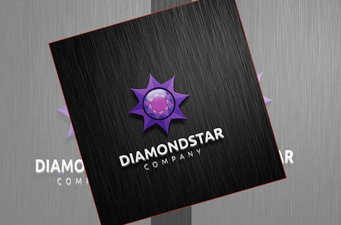 awsome diamond star logo