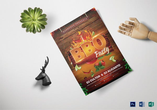 bbq-party-flyer-template