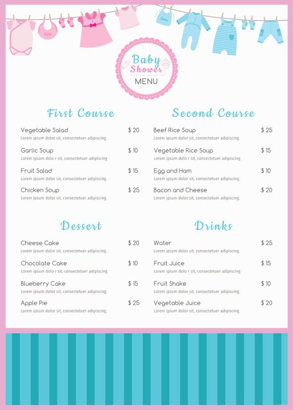 baby-shower-menu-template