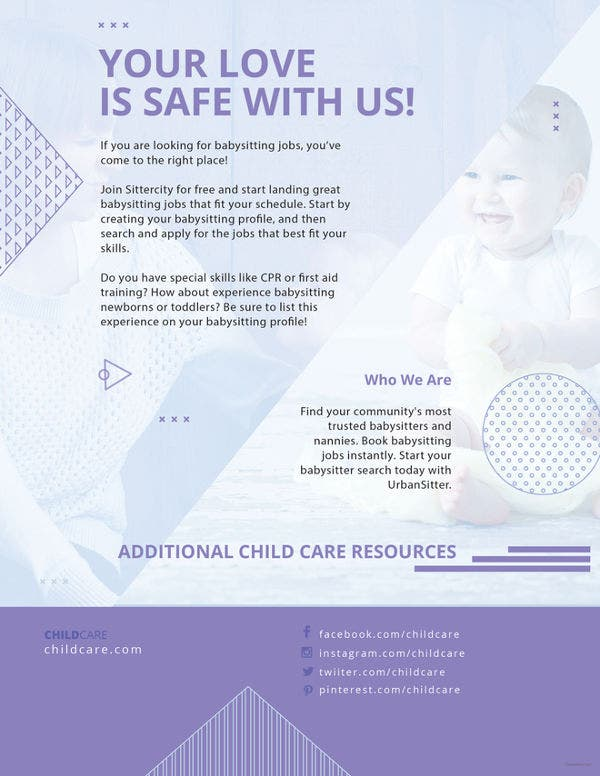 baby-sitting-flyer-template