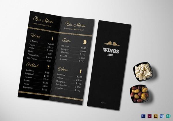 bar-menu-psd-template