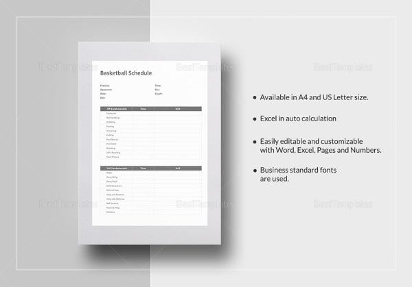 workout schedule template 10 free word excel pdf format download free premium templates. Black Bedroom Furniture Sets. Home Design Ideas