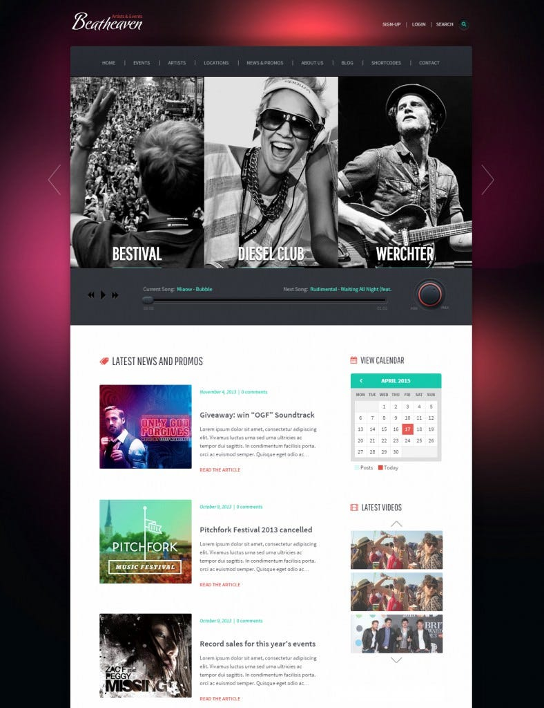 beat heaven dj wordpress theme 55 788x1024