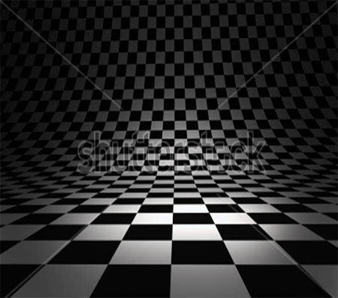beautiful checkered 3d texture