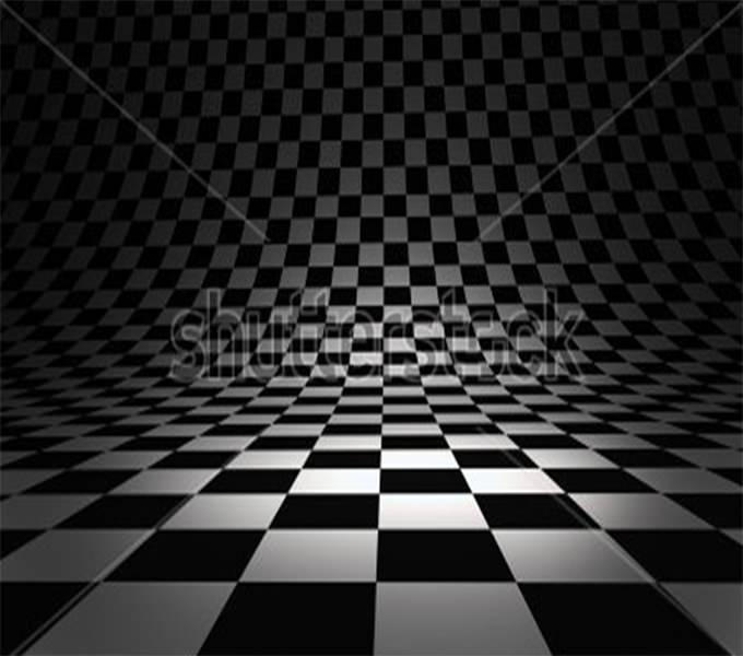 beautiful checkered 3d texture