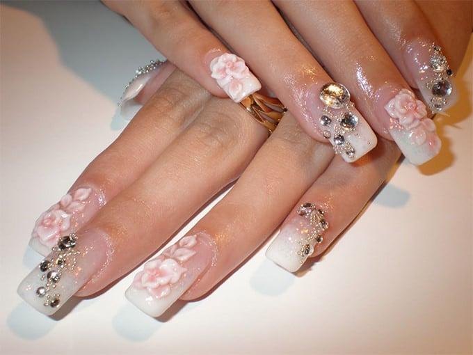 beautiful nail art design