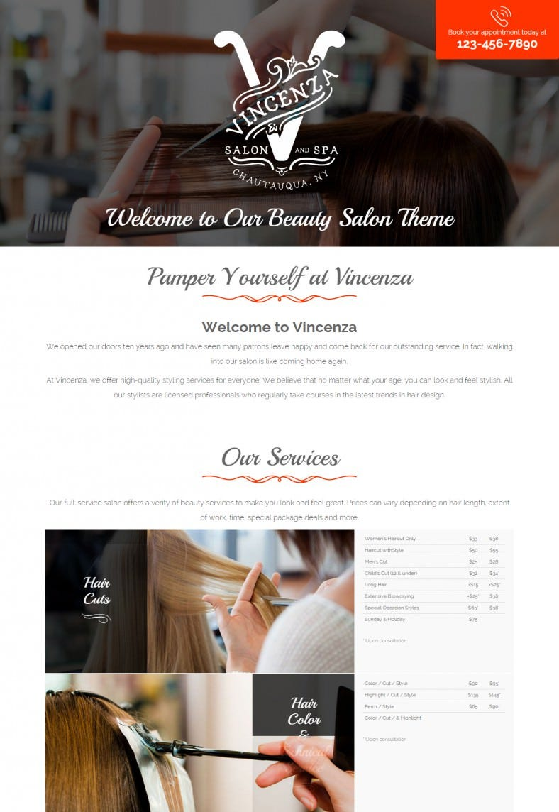 beauty hair salon bootstrap template 15 788x1144