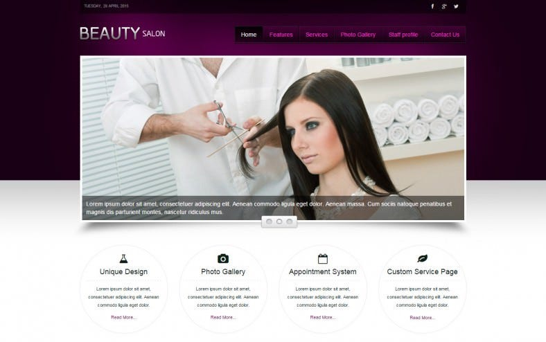 3 best hair salon joomla templates themes free premium templates