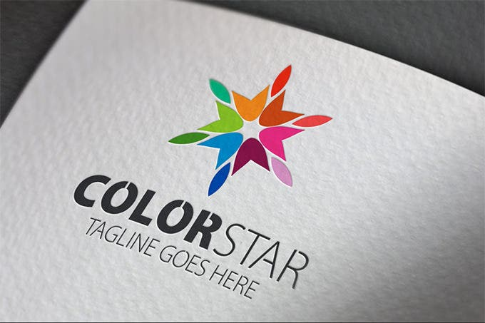 best colorstar star logo