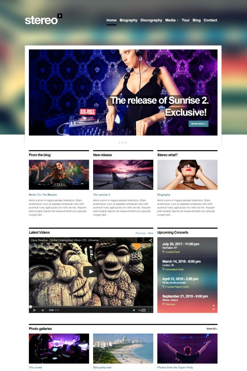 best dj wordpress theme 788x1186